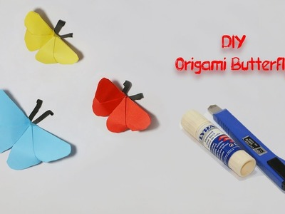 DIY Origami Paper ButterFly | How To Make Origami ButterFly