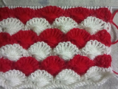 Easy Two color knitting pattern no.91|Hindi