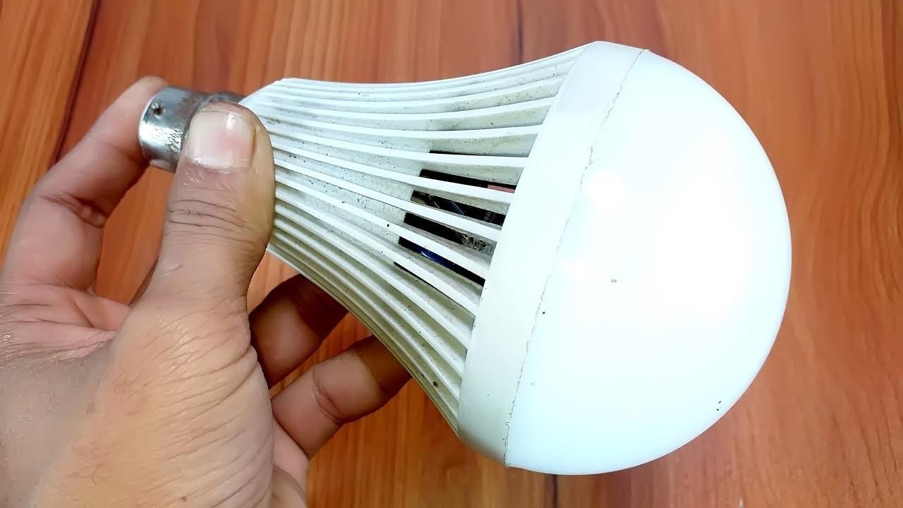 How to AC-DC Led bulb repair diy at home