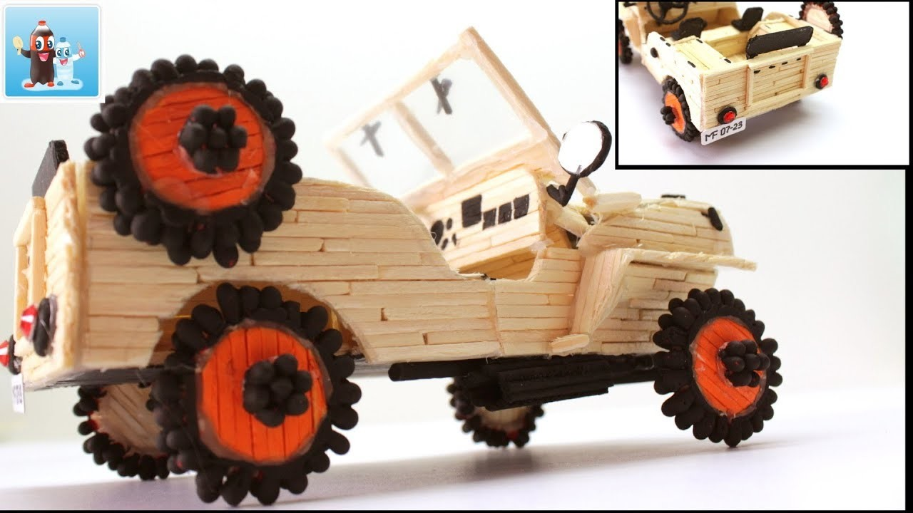 How To Make A Car Toy Willys Overland 1945 Art And Craft Ideas