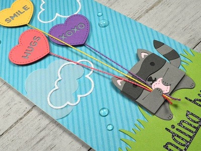 How to make a card using only die cuts