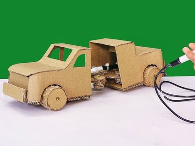 How to make a crazy car from cardboard