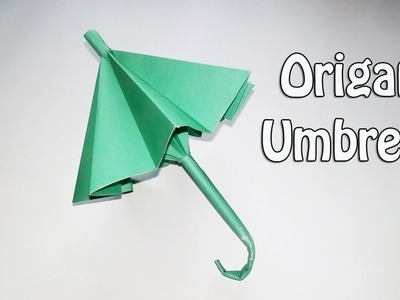How to Make an Origami Umbrella that Open and Closes - Easy Paper Umbrella Instructions