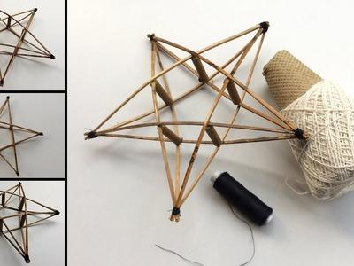 How to make Christmas star . Christmas & Festival Home Decoration ideas. Simple & Easy ideas