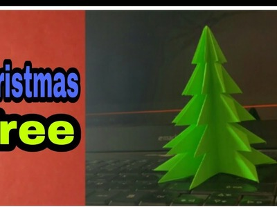 How to make paper Christmas Tree at Home | Origami Tree | Origami Christmas Tree | paper art.