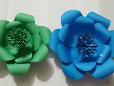 How to Make Paper Flowers Paper Flowers Step by Step