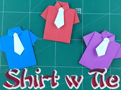 Homemade Paper Bow-Tie Father's Day Card -Happy Hooligans | 300x400