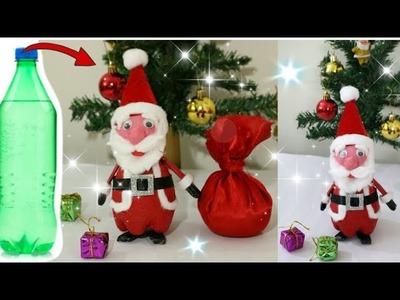 How to make  Santa Claus at home.DIY Christmas Room Decor Ideas. Newspaper Craft Ideas.Santa Making