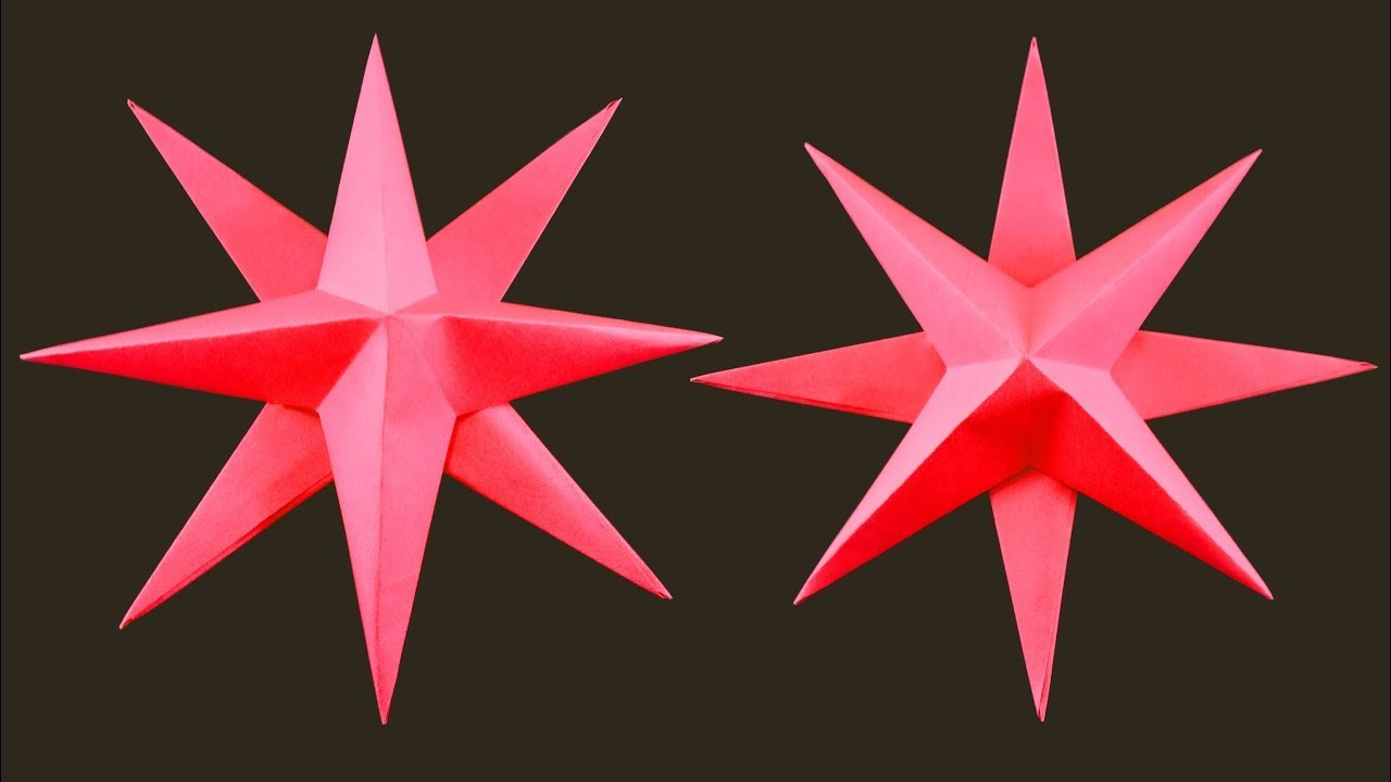 How to make Simple Christmas Star : DIY Christmas Decoration Ideas