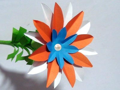 Making How To Make Simple Paper Flowers Aster Amellus Paper