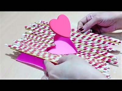 How to make wall hanging   DIY Wall Decor   Best out of waste paper