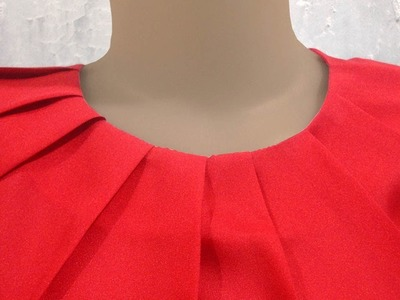 How to sewing a simple blouse model (39)