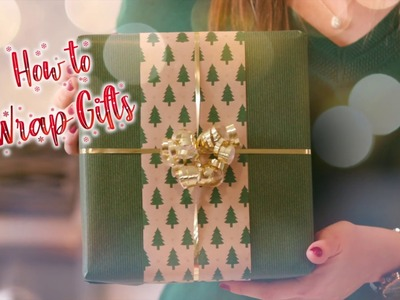 How To Wrap A Gift Box
