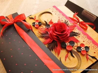 Multilayered Card for Proposal and Valentine's day!! Scrapbook| Album| Multilayered Card
