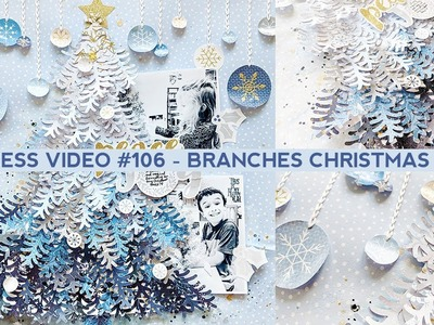 Process Video #106 - How to Create a Paper Branches Christmas Tree