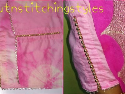 Very stylish beaded sleeves design, How to cut and stitcbeautiful party wear h sleeves design,