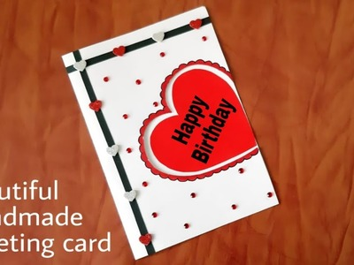 Beautiful Birthday Greeting  Card idea. DIY Birthday card. complete Tutorial