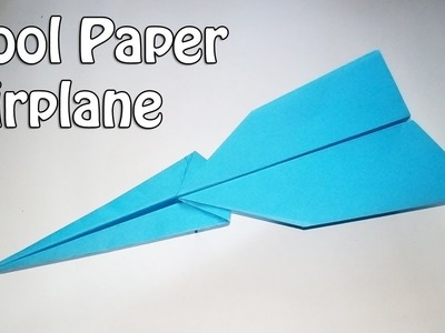 Cool Paper Airplane | How to Make a Paper Airplane