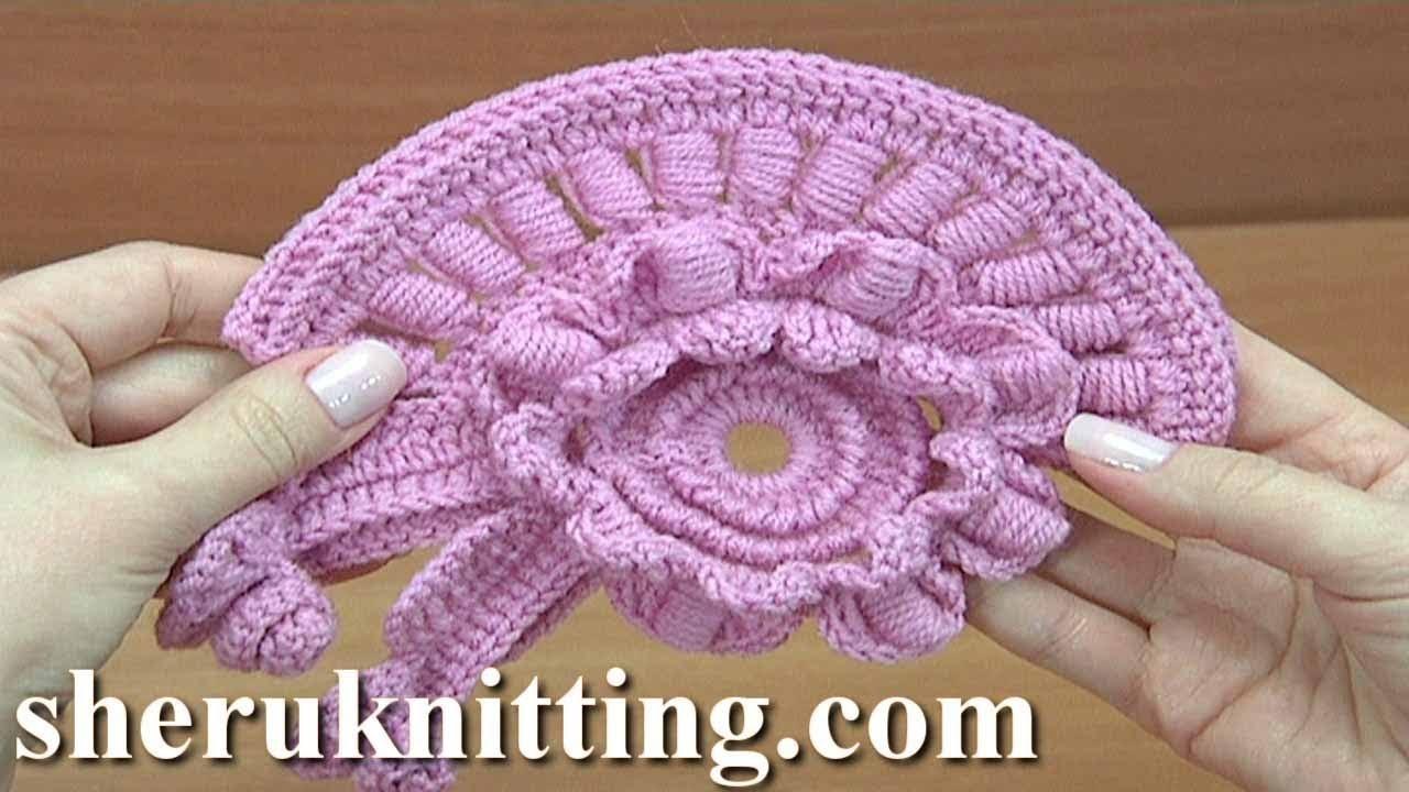 Crochet Motif Tutorial 23 Freeform