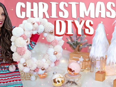 DIY CHRISTMAS ROOM DECOR AND GIFT IDEAS FOR THE HOLIDAYS!