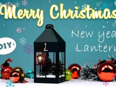 DIY New Year Lantern | How To Make New Year Lantern From Cardboard | Merry Christmas