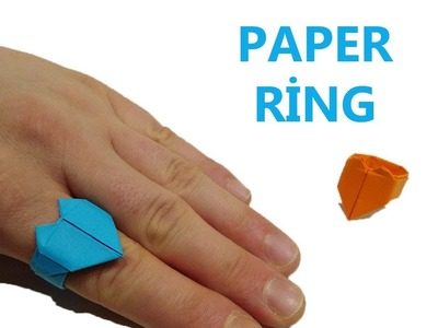 DIY Paper Ring | How to Make a Paper Ring