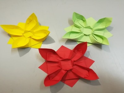 Easy Paper Flowers | How to make a paper flowers | DIY Paper Flower Decorations