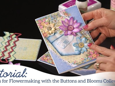 EZ tips for Flowermaking with the Buttons and Blooms Collection
