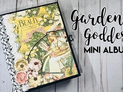 Garden Goddess Mini Album for JS Hobbies and Crafts