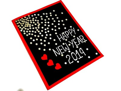 Handmade NEW YEAR Card idea | How to make NEW YEAR card | Complete tutorial