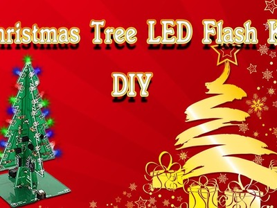 How to assemble a Geekcreit® DIY Christmas Tree LED Flash Kit