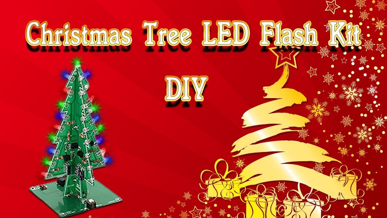 Christmas How To Assemble A Geekcreit Diy Christmas Tree Led Flash