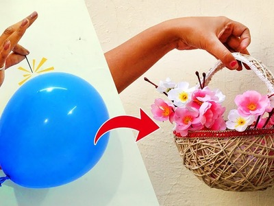 How to Make a Basket Using Balloon? Awesome Ideas with Balloon | StylEnrich