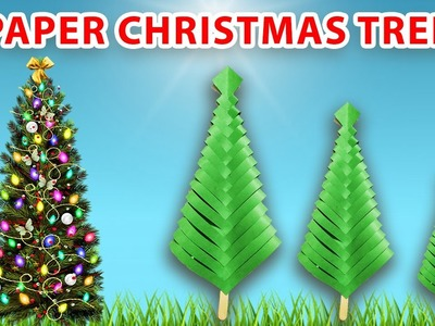 How to make a PAPER CHRISTMAS TREE Step by Step | #videoLovers