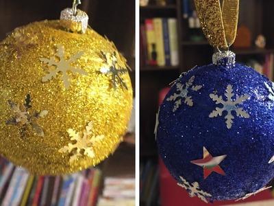 How to make Christmas decoration ball #Christmas #DIY #Ball #Decoration