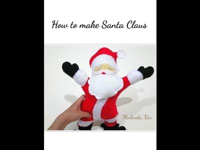 How to Make Felt Santa Claus