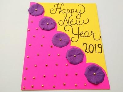 Handmade New Year Greetings Card How To Make New Year Greeting Card
