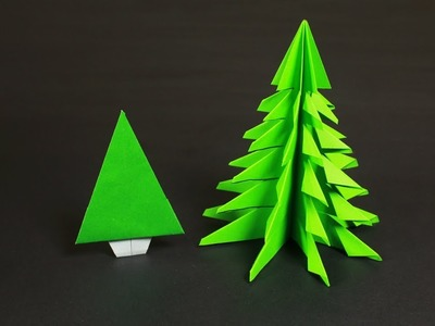HOW TO MAKE PAPER CHRISTMAS TREES