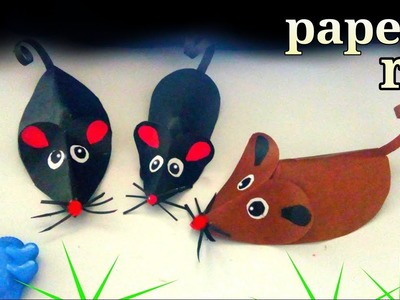 How to make paper rat for kids || how to make a paper mouse easy || paper rat for kids