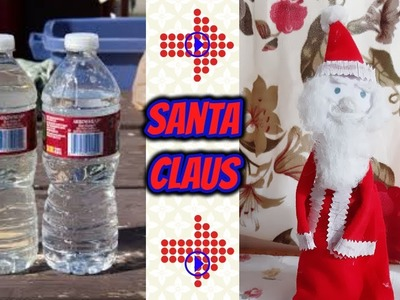 How to make Santa Claus from old bottle [recycle]-|Hindi|