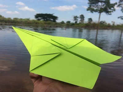How to Make the World's Fastest Paper Airplane | Origami the World's Fastest Paper Airplane