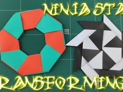 How to Make a Ninja Star (Shuriken) - Origami - Easy Step by Step ... | 300x400