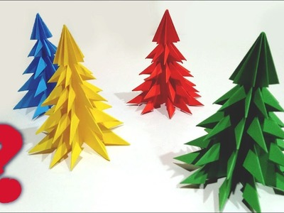 Paper Christmas Tree | DIY Christmas Tree How To Make ? ????