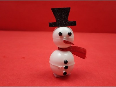 Snowman making ideas for Christmas Decorations,DIY- How to make Snowman? Christmas Crafts for Kids