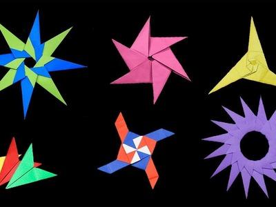 Top 06 Easy Origami Ninja Star - How to make