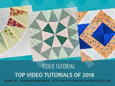 Top quilting video tutorials of 2018
