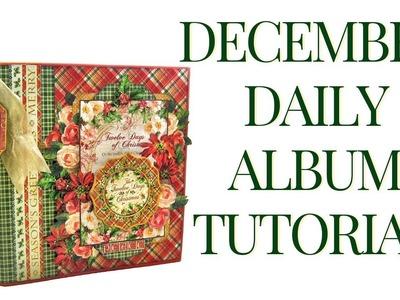 [Tutorial] December Daily Album: Club G45 Vol 11 Featuring Twelve Days of Christmas