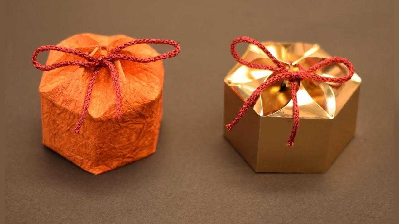 Amazing DIY gift Box for New Year | DIY Paper Crafts | NO templates DIY Gift box