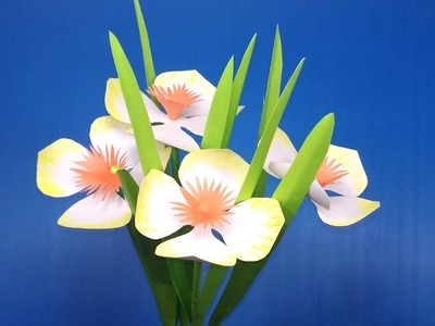 Beautiful Paper Flower | Handcraft Stick Flower for Room | Flowers | Jarine's Crafty Creation