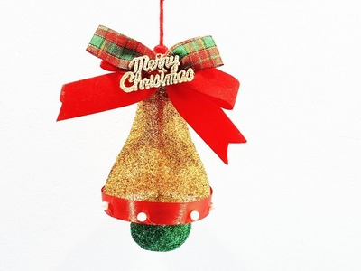 Christmas Bell from Waste Plastic Bottle |Christmas Decoration |DIY|